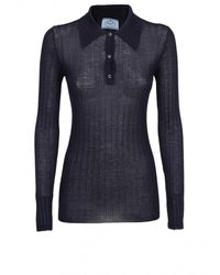 Prada Polo Shirt - Blue
