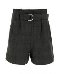 Ganni Bermuda Shorts - Metallic