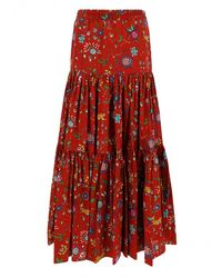 LaDoubleJ Big Skirt - Red