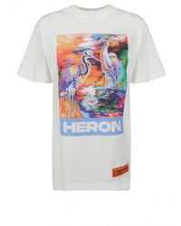 Heron Preston Short Sleeved T Shirt - White