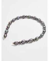 BaubleBar Freshwater & Imitation Pearl Headband - Multicolor