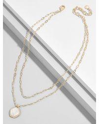 BaubleBar - Elizandra Resin Pendant Necklace - Lyst