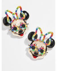 BaubleBar Rainbow Minnie Mouse Studs - Multicolor