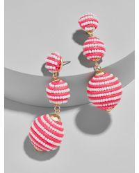 BaubleBar - Mini Beaded Criselda Ball Drop Earrings - Lyst