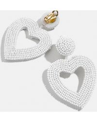 BaubleBar - Vionnet Heart Drop Earrings - Lyst
