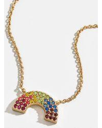BaubleBar - Rain Pendant Necklace - Lyst