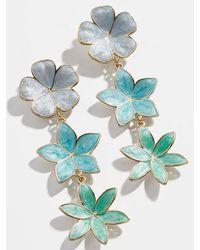 BaubleBar Buttercup Drop Earrings - Blue