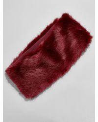 BaubleBar - Monroe Faux Fur Neckwarmer - Lyst