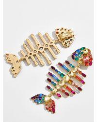 BaubleBar - Rainbow Fish Drop Earrings - Lyst