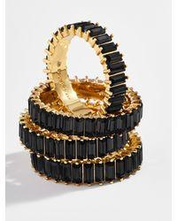BaubleBar Mini Alidia Ring - Black