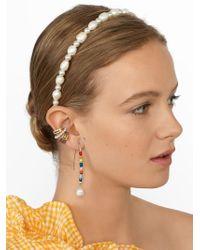 BaubleBar - Robin Pearl Headband - Lyst