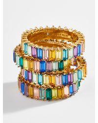 BaubleBar Mini Alidia Pinky Ring - Metallic