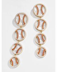 BaubleBar Homerun Drop Earrings - Multicolour