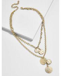 BaubleBar - Talia Layered Pendant Necklace - Lyst
