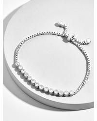 BaubleBar - Diana Cubic Zirconia Bracelet - Lyst