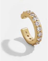 BaubleBar Sol 18k Gold Vermeil Ear Jackets - Multicolour
