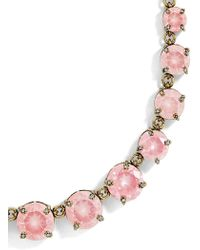 BaubleBar - Camryn Glass Statement Necklace - Lyst