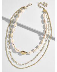 BaubleBar - Rhodes Layered Necklace - Lyst