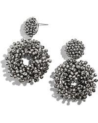 BaubleBar - Eve Hoop Earrings - Lyst