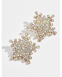BaubleBar Stellar Oversized Stud Earrings - Metallic