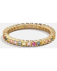 BaubleBar Vivace 18k Gold Vermeil Stacking Ring - Metallic
