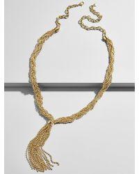 BaubleBar - Helaine Y-chain Statement Necklace - Lyst