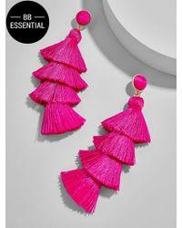 BaubleBar | Gabriela Stud Tassel Earrings | Lyst