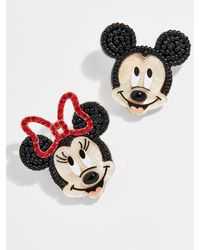 BaubleBar Mickey Mouse And Minnie Mouse Earrings - Multicolor