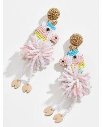 BaubleBar Unicorn Drop Earrings - Multicolour