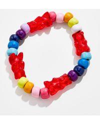 BaubleBar Cherry Gummy Bracelet - Red