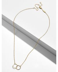 BaubleBar - Connesso 18k Gold Plated Necklace - Lyst