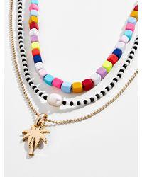 BaubleBar Alleria Necklace Set Of Three - Multicolour