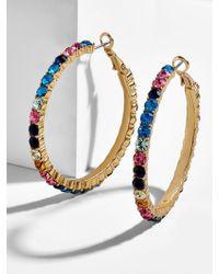 BaubleBar - Georgina Hoop Earrings - Lyst