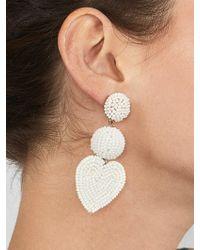 BaubleBar - Vitina Heart Drop Earring - Lyst