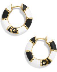 BaubleBar - Manila Huggie Hoop Earrings - Lyst