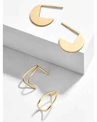 BaubleBar - Sfera 18k Gold Plated Earring Duo - Lyst