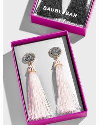 BaubleBar Valencia Tassel Earrings - Multicolour