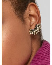 BaubleBar - Bordeaux Crystal Crawler Earrings - Lyst