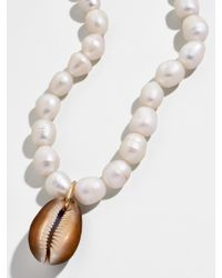 BaubleBar Bahama Pearl Statement Necklace - Multicolour