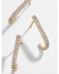 BaubleBar Virginia 14k Solid Gold Stacking Ring - Metallic