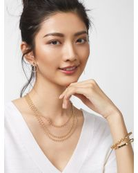 BaubleBar - Kirrali Layered Necklace - Lyst