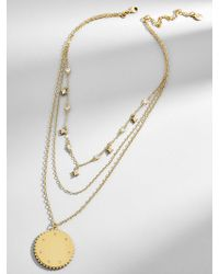 BaubleBar - Andromeda Layered Pendant Necklace - Lyst