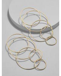 BaubleBar | Romelia Linked Hoop Earrings | Lyst