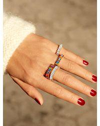 BaubleBar Mini Alidia Pinky Ring - Multicolour