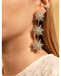 BaubleBar Callisto Drop Earrings - Metallic