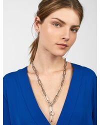 BaubleBar - Manita Linked Pendant Necklace - Lyst