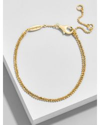 BaubleBar - Duo Everyday Fine Bracelet - Lyst