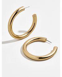 BaubleBar Dalilah Large Tube Hoop Earrings - Multicolour