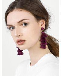 BaubleBar - Gabriela Stud Tassel Earrings - Lyst