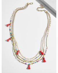 BaubleBar - Rida Layered Necklace - Lyst